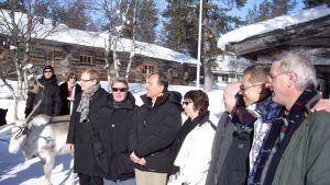Gruppbild från möte i Saariselkä