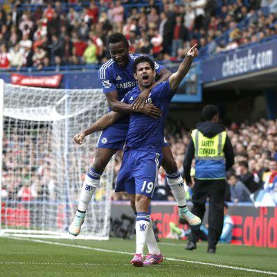 Diego Costa firar ett mål