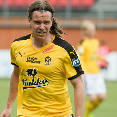Mika Ääritalo spelade för KuPS säsongen 2016.