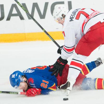 Jokerit föll tungt mot Avtomobilist Jekaterinburg.