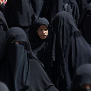 Saudiarabiska kvinnor.