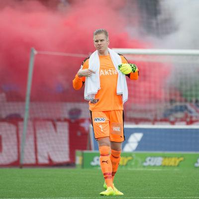 Tomi Maanoja gjorde sina sista matcher för Helsingfors IFK.
