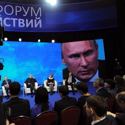 President Vladimir Putin på en konferens i Moskva den 5 december 2013