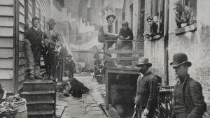 Bild från 1890-talets New York.