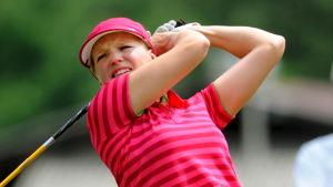 Ursula Wikström var nästa bästa europeiska spelare och totalt femma i veckans Europatourtävling i Kina.