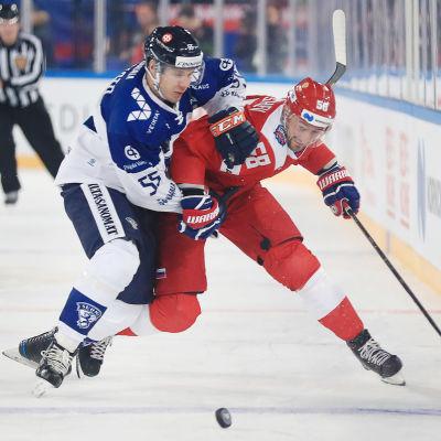Miika Koivisto i närkamp.