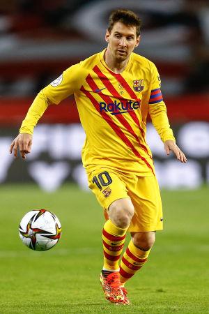 Barcelonas Lionel Messi är på väg mot sin femte raka skyttekungstitel. Argentinaren har gjort 25 mål och tvåan Karim Benzema i Real Madrid 21.