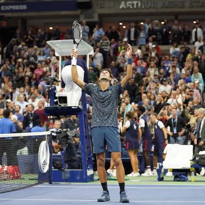 Novak Djokovic har säkrat segern i New York.