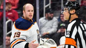 Mikko Koskinen i Edmonton Oilers.