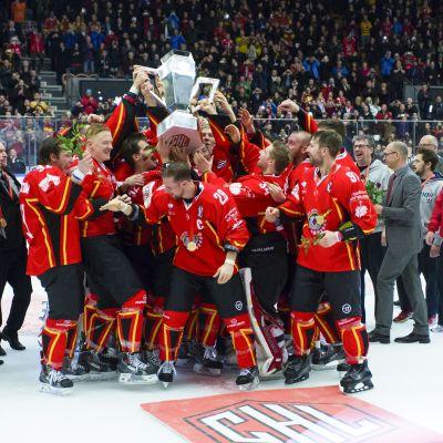 Luleå Hockey, mästare i CHL 2015.