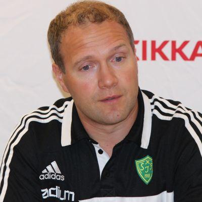 Kaj Hagman, tränare för Sjundeå IF.