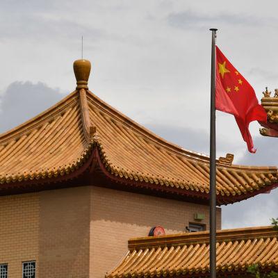 Kinas ambassad i Australiens huvudstad Canberra