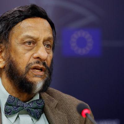 Chefen för FN:s klimatpanel Rajendra Pachauri.