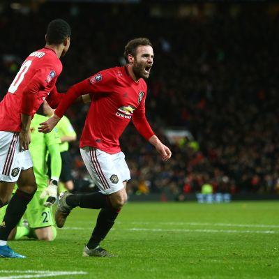 Manchester United jatkoon FA Cupissa