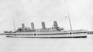 Lasarettskeppet HMHS Britannic.