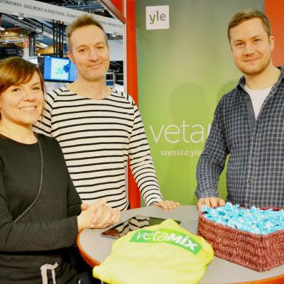 Vetamix och Yle Nyhetsskolan på Educa 2016.