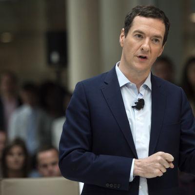 George Osborne höll ett tal om EU-omröstningen i Bournemouth 3.6.2016