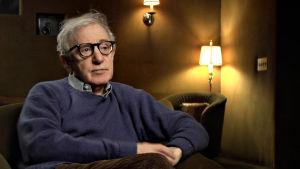 Woody Allen. Kuva dokumenttisarjasta Bergmanin videot.