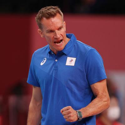 Tuomas Sammelvuo valmentaa olympialaisissa venäläisurheilijoiden joukkuetta.