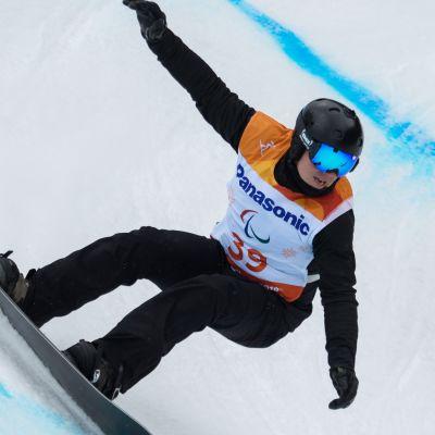 Korean paralympialaiset: Lumilautailu