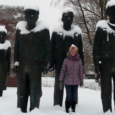 Kaisa Salmi Fellmannin puistossa