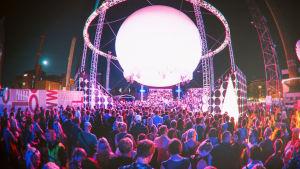 Flow Festival 2014 Balloon 360 Stage