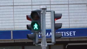 Grön gubbe, trafikljus