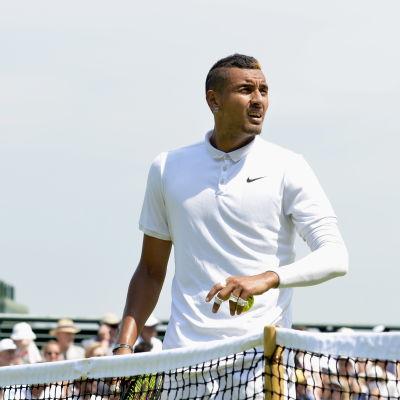 Nick Kyrgios, Wimbledon 2015.