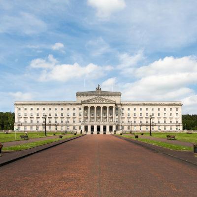 Parlamentsbyggnad i Nordirland.