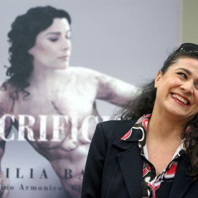 Cecilia Bartoli i San Sebastian i Spanien i april 2010.