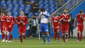 I helgen var det Deportivo La Coruna som fick känna på rödklädda Sevillas offensiva kraft då gästerna vann med 3-2.