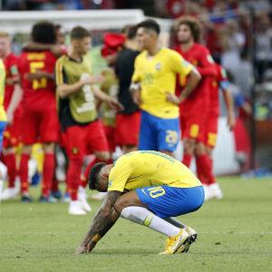Besviken Neymar.