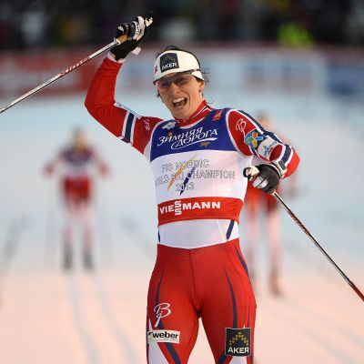 Marit Björgen etta i Falun.