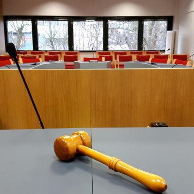 Vy från tingsrätten på Åland
