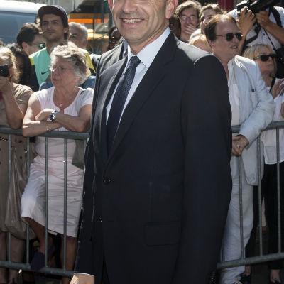 UMP-ledaren Jean-François Copé i Paris i juli 2013.