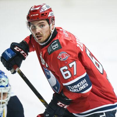 Tomas Zaborsky satte HIFK:s enda mål mot Lukko.