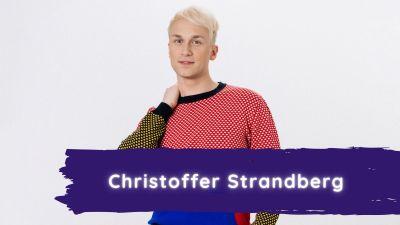 Christoffer poserar.