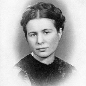 ett gammalt foto på en polsk kvinna