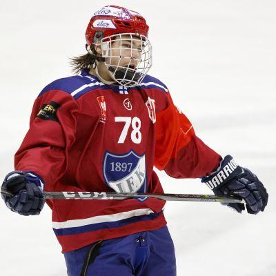 Niklas Nordgren i HIFK:s tröja.