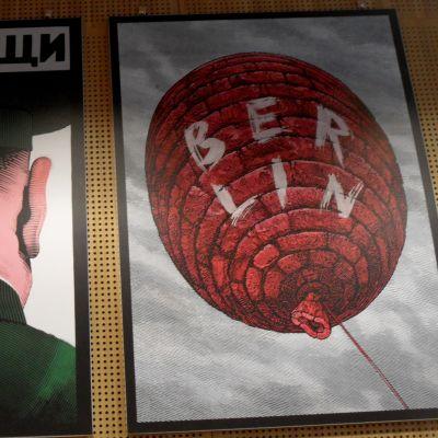 István Orosz, affischkonst