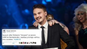 Roope Salmisen hauska twiitti UMK-mokasta