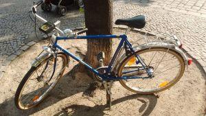 Cykel från 70-talet.