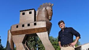 Troijan hevosen tarina on eräs kreikkalaisen mytologian kiehtovimmista tarinoista.