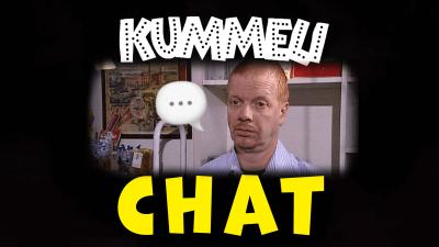 Tonnin seteli-meemikuva sekä Kummeli ja Chat-tekstit sen ympärillä