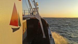 Marianne av Göteborg seglar mot Gaza.