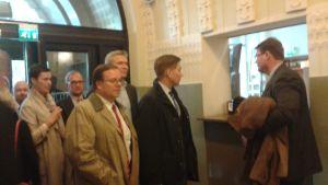 Delegation uppvaktar med anledning av Y-tåget