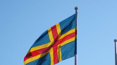 Ålands flagga.