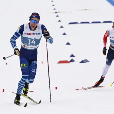 Iivo Niskanen 50 km Oberstdorfin MM-kisat 2021