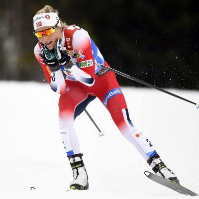 Therese Johaug vann även tremilen i VM.