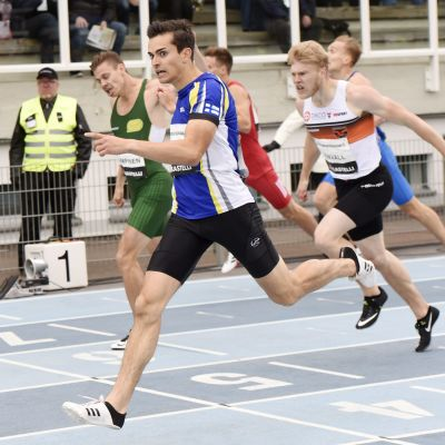 Eljas Aalto vinner 400m